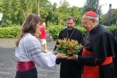 """Sandri trae a Ucrania el """"afecto, presencia y cercanía"""" del Papa"""