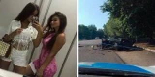 Muerte en la carretera: las dos chavalas transmiten en directo su brutal accidente