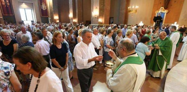 El obispo de Castellón preside una misa de desagravio en Villareal