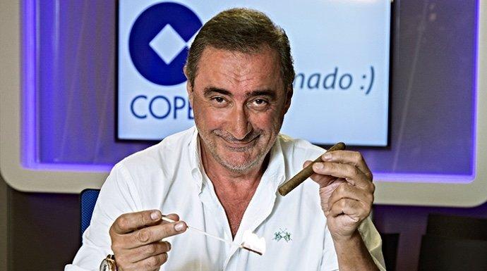 Carlos Herrera deja en el aire su renovación en COPE tras el último EGM