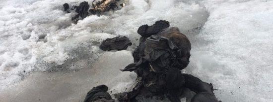 Los cuerpos congelados de una pareja suiza que desapareció hace 75 años