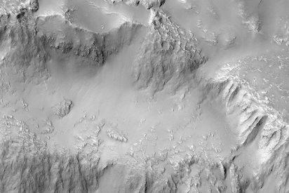 Así son las impresionantes 'cataratas del Niágara' de Marte