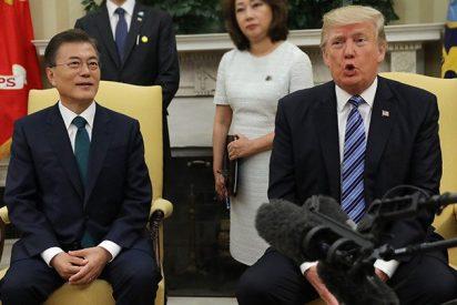 Trump afirma que se le acabó la paciencia con Corea del Norte