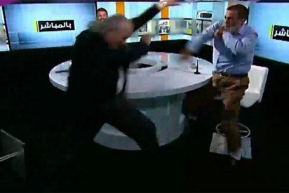 [VÍDEO] Debate televisivo sobre una decapitación termina con una fuerte pelea en directo
