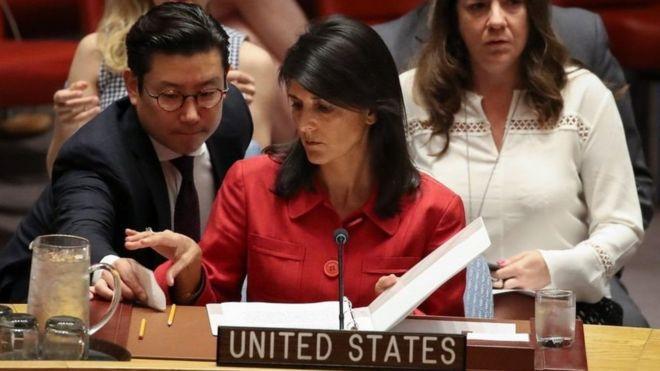"""""""Usaremos nuestra fuerza militar si es necesario"""": la advertencia de EEUU a Corea del Norte en la ONU"""