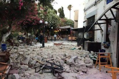 Un super terremoto de magnitud 6.7 sacude Grecia y Turquía