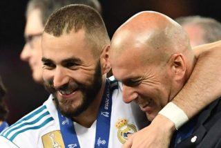 Karim Benzema: «No veo al  Real Madrid sin Zidane, no se va a ir, ya lo verás…»