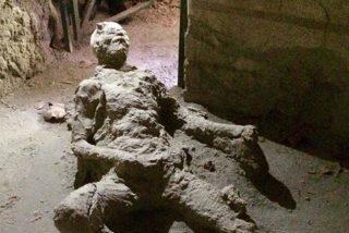 La imagen 'masturbándose' de este hombre petrificado en Pompeya se ha hecho viral