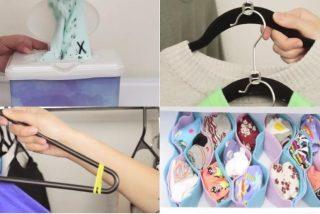 Tutorial: los mejores trucos para guardar ropa