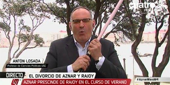 Twitter le saca la piel a tiras a Antón Losada por su burda burla sobre Venezuela