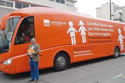 El autobus de Hazte Oír 'volará': así será su nueva campaña por vía aérea
