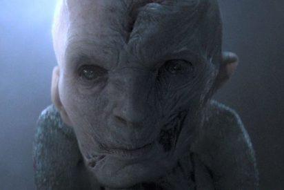 ¡Spoiler!: Imágenes de 'Star Wars 8' en las que se ve al malvado Snoke