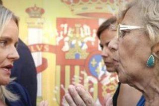 Tensión entre la hermana de Miguel Ángel Blanco y Manuela Carmena al término del homenaje al concejal asesinado por ETA