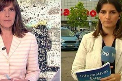 """La reportera de TVE que entra en colapso y huye: """"¡Joder, lo he hecho mal!"""""""