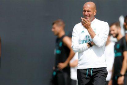 ¡Bombazo! Zidane eligió a un insólito jugador como relevo de Morata