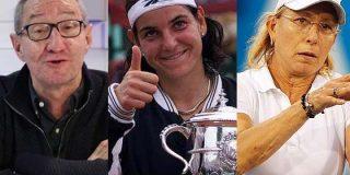 """El viral artículo de Boyero donde llama """"simpática vacaburra"""" a Arantxa y """"bollera"""" a Navratilova"""
