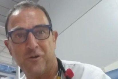 El espantoso vídeo del médico que cuenta la verdad que oculta una enfermiza Junta de Andalucía