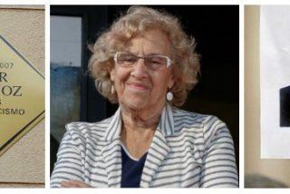 Carmena solo homenajea a las víctimas cuando son las suyas: a Palomino, una placa; a Blanco, ni una pancarta