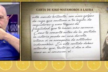 La carta de Kiko Matamoros a su hija Laura que dejó sin aliento a los frikies de 'Sálvame'