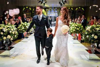 Así de espectacular fue la boda de Lionel Messi y Antonela Roccuzzo