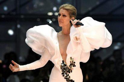 El pudoroso desnudo de la atrevida Céline Dion a los 49 años