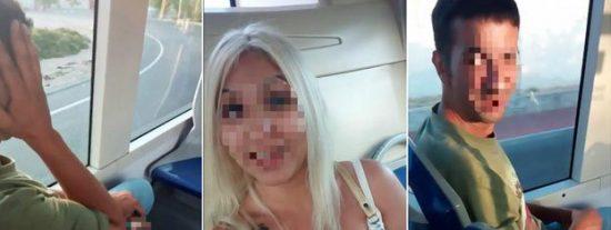 [VÍDEO] La atrevida joven que graba a un pervertido pelándosela en un bus de Palma