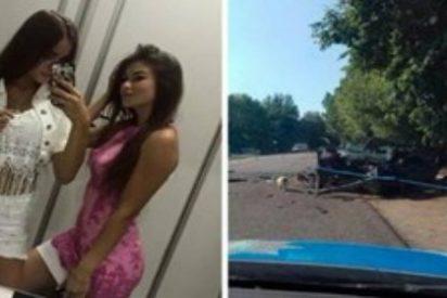 Las dos alegres ucranianas que graban su muerte en el coche tras beber a troche y moche