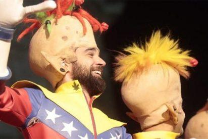 [VÍDEO] Así se burla Podemos del drama venezolano a ritmo de chirigota