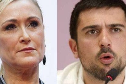 "Cifuentes desnuda a 'Black Espinar': ""Que suerte ser de Podemos para llamar guapi a tus rivales sin que te acusen de machismo"""