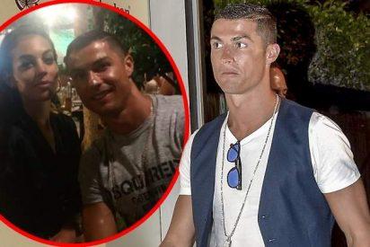 Feliz y contento, Cristiano Ronaldo confirma el embarazo de Georgina