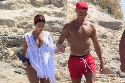 El terrible día de vacaciones que pasó Georgina Rodríguez junto a Cristiano Ronaldo