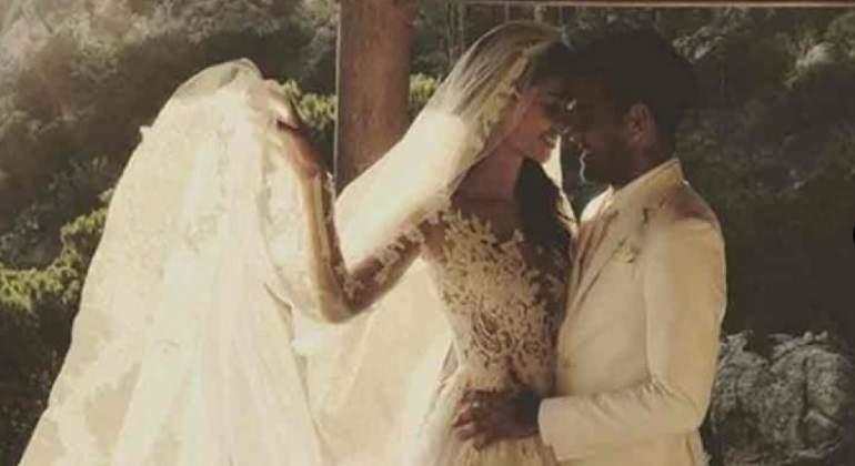 Dani Alves y Joana Sanz se han casado en Formentera