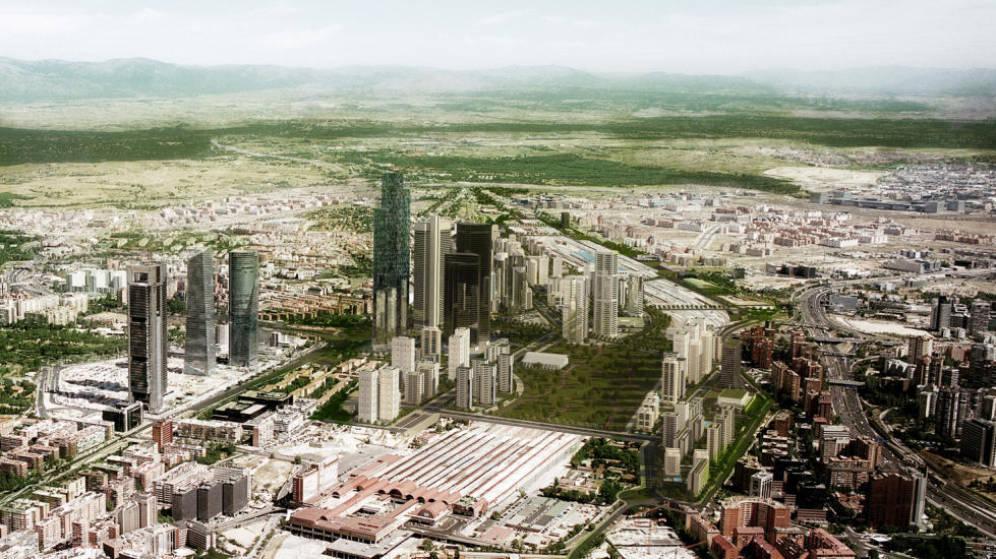 La ampliación de la Castellana se iniciará en 2019 e incluye 10.000 nuevas viviendas