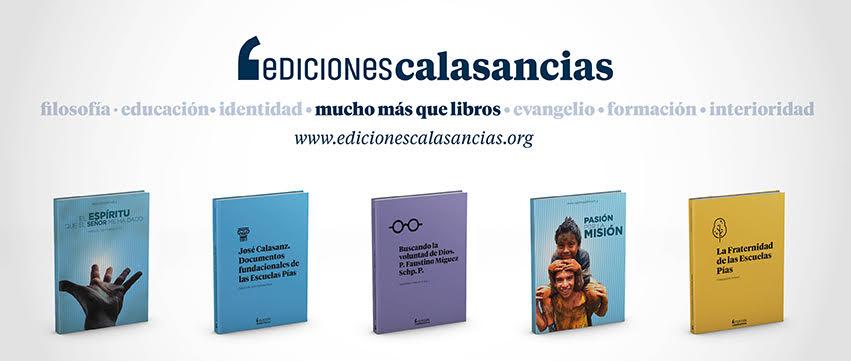 Lanzamiento de la web de Ediciones Calasancias