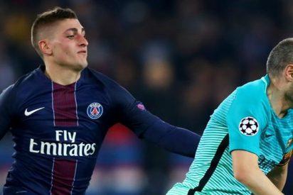 El crack que se ofrece al Barça (a la desesperada) tras el ?no? del PSG por Verratti