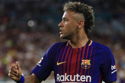 El ex jugador del Real Madrid que suena como relevo de Neymar en el Barça (y no es Di María)