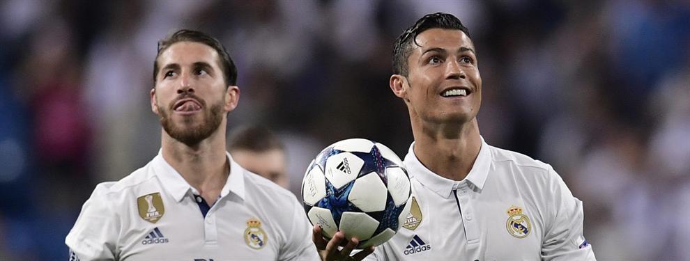 El fichaje que enfrenta a Cristiano Ronaldo con Sergio Ramos en el Real Madrid