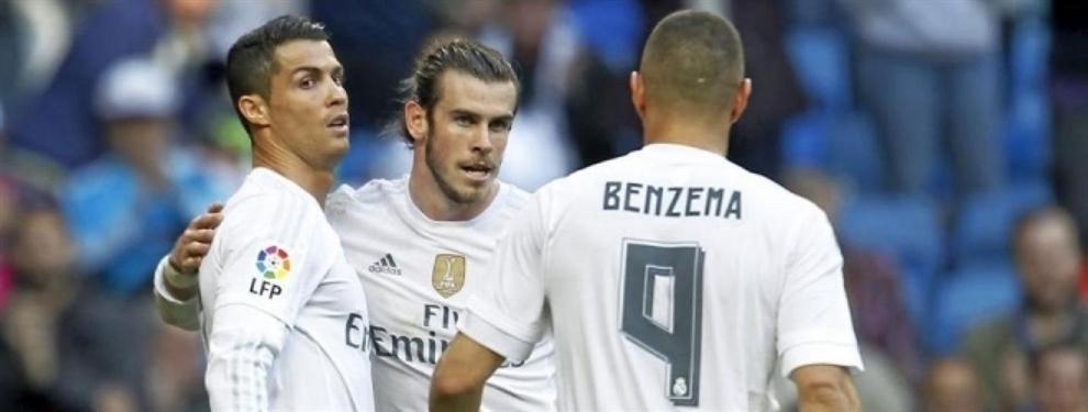 El gesto de Florentino Pérez que señala al jugador de la BBC que sobra en el Real Madrid