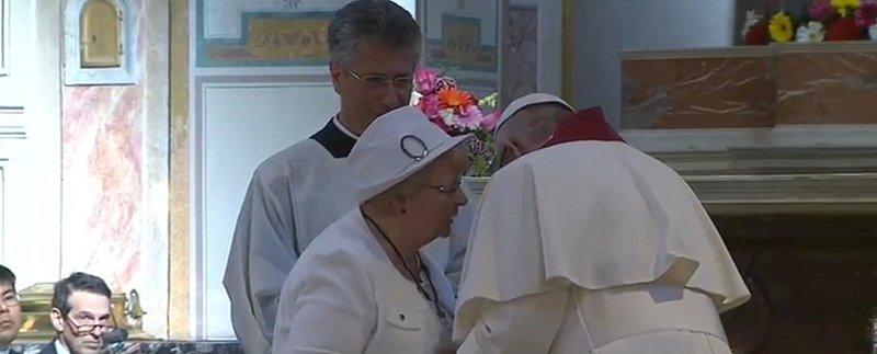 """Roselyne Hamel: """"Sé que el Papa quiere que mi hermano sea reconocido santo"""""""