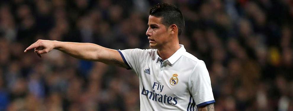 El pelotazo de James Rodríguez: la millonada que le saca al Real Madrid