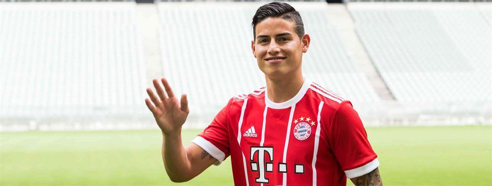 El recadito de James Rodríguez a Cristiano Ronaldo desde el Bayern