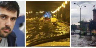 'Black' Espinar politiza las inundaciones de Madrid para culpar a Cifuentes y acaba despellejado en Twitter
