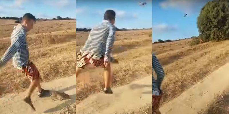 """Se busca al bestia que pateó un conejo al grito de """"¡Cristiano Ronaldo!"""""""