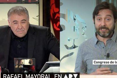 """Mayoral llama """"mafia"""" a todo el PP y balbucea cuando Ferreras le arrincona con ello: """"Bueno, era una metáfora"""""""