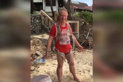 [VÍDEO] Grabó la muerte de su marido de 70 años haciendo parasailing