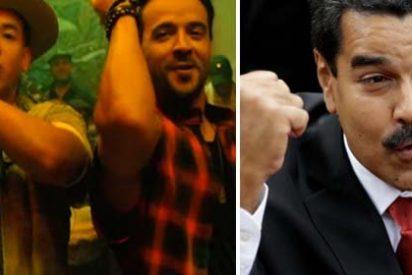 Luis Fonsi y Daddy Yankee, al cuello del sátrapa Maduro por haberse apropiado de su éxito 'Despacito' para sus fines políticos