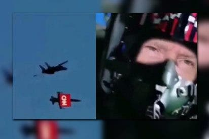 El vídeo del hijo de Trump en el que su padre 'derriba' un avión con el logo de CNN
