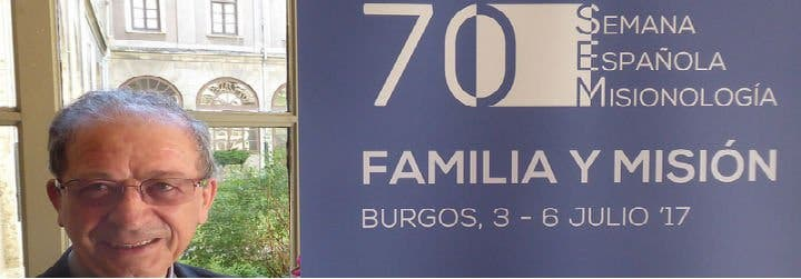 """Anastasio Gil: """"Las familias enviadas a la misión no son un hecho anecdótico, son algo necesario"""""""