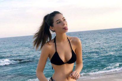 Esta bella modelo es la hija del fallecido Paul Walker