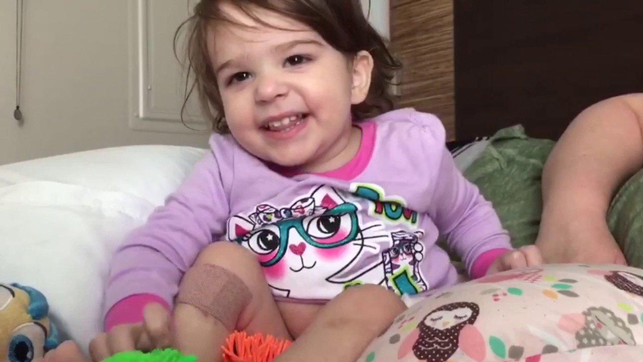 La niña que pasó 20 minutos muerta y fue 'resucitada' con una terapia de oxígeno
